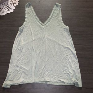 American Eagle Olive Tank Top